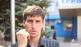 Известный в Кривом Роге рикша рассказал о нападениях на него