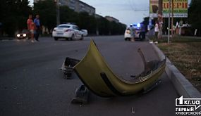 Происшествия: в Кривом Роге государственная охрана столкнулась с Ланосом | 1kr.ua