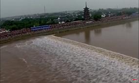 Самая большая приливная волна в мире