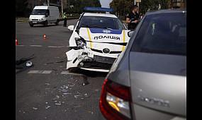 Происшествия Кривой Рог: патрульные попали в ДТП | 1kr.ua