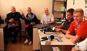 В Кривом Роге прошла официальная презентация ФК «Кривбасс» | 1kr.ua