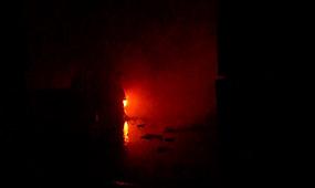 Вогнеборцями ліквідована пожежа в ангарі