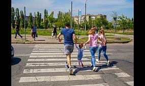 Опасный пешеходный переход в Кривом Роге | 1kr.ua