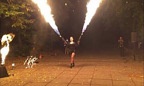 Театр огня Феникс в MADiSAN Кривой Рог