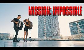Миссия Невыполнима - Саундтрек | Кавер на Бандуре и Баяне