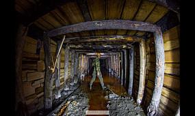 Старинная австрийская соляная шахта