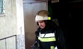 м. Кривий Ріг: під час пожежі вогнеборцями врятовано 7 осіб з них 2 дітей