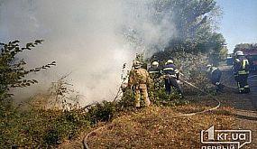 В Кривом Роге сгорел Chevrolet Laccetti.