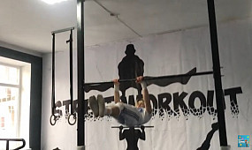 Открытый чемпионат по Воркаут в г. Кривой Рог