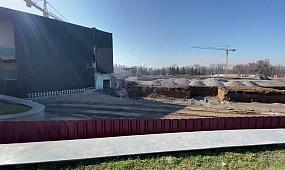 Реконструкция стадиона «Металлург» в Кривом Роге