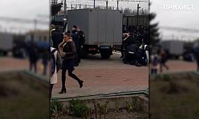 Полиция задержала фанатов ФК Кривбасс ещё до начала матча