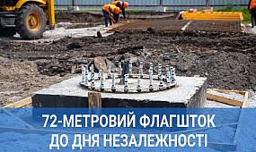 У Кривому Розі до Дня незалежності встановлять флагшток | 1kr.ua