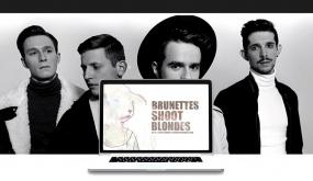 «Знай наших» Герои программы - группа «Brunettes shoot blondes»